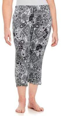 Ellen Tracy Plus Yours to Love Cropped Pants