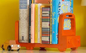 DwellStudio Lacquered Kids Bookshelf