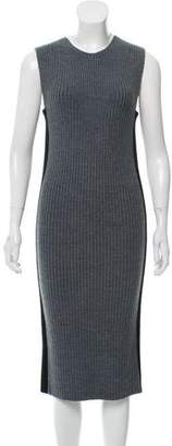 Public School Rib Knit Midi Dress