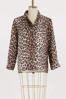 La Prestic Ouiston Leopard shirt