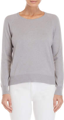 Brodie Grey Cashmere Sweater