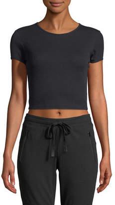 Alo Yoga Crewneck Short-Sleeve Baby Tee