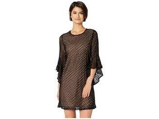 Miss Me Ruffle Sleeve Mini Dress