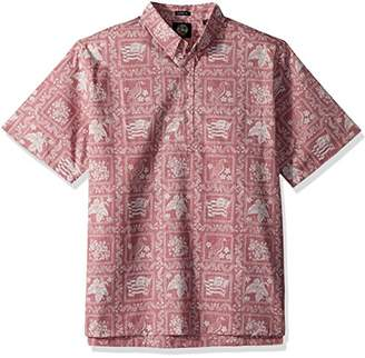 Reyn Spooner Men's Lahaina Sailor Kloth Classic Pullover Hawaiian Shirt