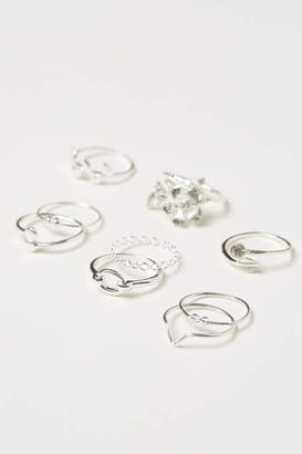H&M 9-pack Rings - Silver-colored - Women