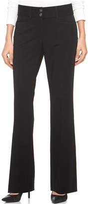 Alfani Two-Button Curvy-Fit Pants, Created for Macy's