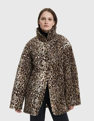 Collina Strada Shelter Faux Leopard Jacket