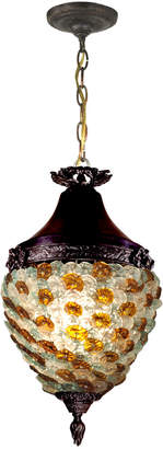Dale Tiffany Glass Flower Hanging Fixture