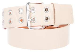 Sonia Rykiel Sonia by Patent Leather Buckle Belt