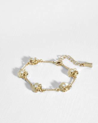 Ted Baker PENELE Crystal floral bracelet