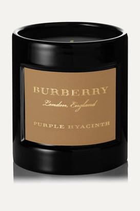 Burberry Purple Hyacinth Scented Candle, 240g - Colorless