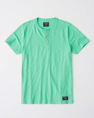 Abercrombie & Fitch Short-Sleeve Henley
