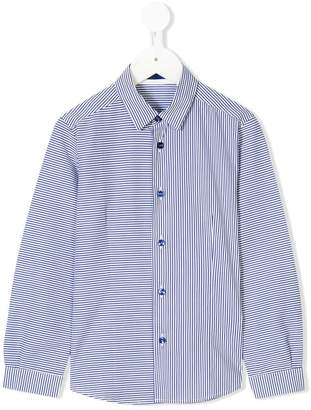 Tagliatore Junior striped shirt