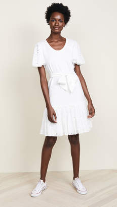 Rebecca Taylor Tiered Jersey Dress