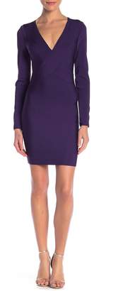 Wow Couture Long Sleeve Bandage Dress