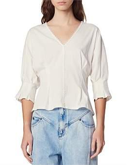 Sandro Paris Marlene Knitted T Shirt
