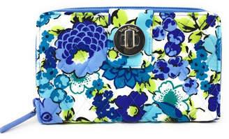 Vera Bradley Blueberry Blooms Turnlock