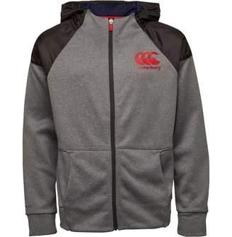 Canterbury of New Zealand Junior Boys Vaposhield Full Zip Hoody Static Marl