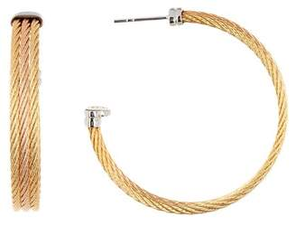Alor 18K Gold-Plated Stainless Steel Hoop Earrings