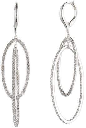 Ralph Lauren Pavé Orbital Drop Earrings