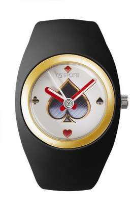 Ioion IO?ION! Io? ION. bu-blk05 – Unisex Watch – Analogue Quartz – Black Silicone Strap
