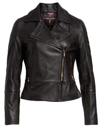 Ted Baker Lizia Minimal Biker Jacket