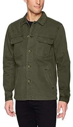 AG Adriano Goldschmied Men's Marx Cotton Herringbone Long Sleeve Field Jacket