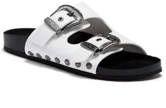 Fergalicious Louie Buckle Side Sandal