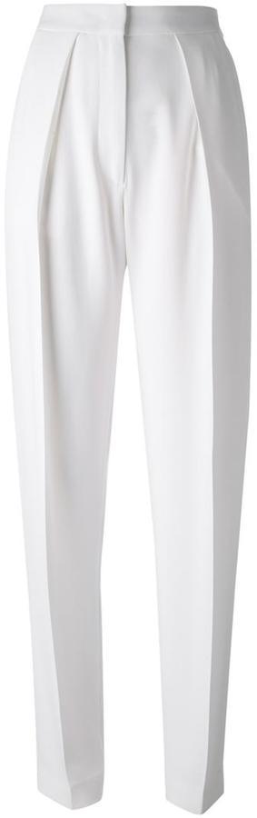 JOSEPHJoseph high waist pleated trousers