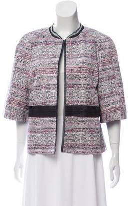 Peter Som Printed Open Front Jacket