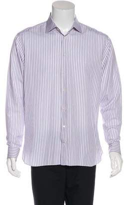 Armani Collezioni Striped Dress Shirt