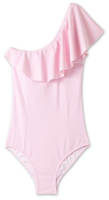 Girl's Stella Cove Ruffle One-Piece Swimsuit $55 thestylecure.com