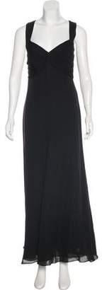 Armani Collezioni Silk Evening Dress