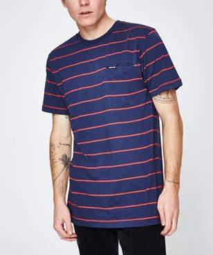 Santa Cruz Lull Pocket Short Sleeve T-shirt Navy