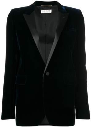 Saint Laurent Iconic Le Smoking tube jacket