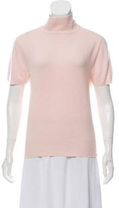 Cruciani Short Sleeve Cashmere Sweater