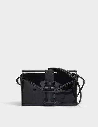 Christopher Kane Patent Leather Devine Bag in Black Patent Leather