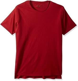 Zanerobe Men's Elongated Split Side League Flintlock Short Sleeve Tee Shirt