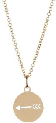 Bony Levy 14K Yellow Gold Arrow Cutout Pendant Necklace
