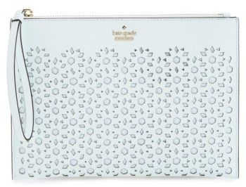 Kate Spade New York Cameron Street - Bella Leather Pouch - Blue