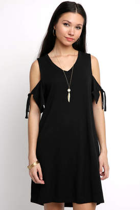 Sanctuary Cold Shoulder Dress