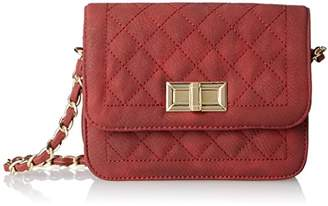 MG Collection Rosa Quilted Satchel Cross Body