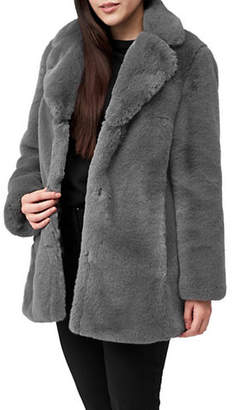Precis Petite Lex Faux Fur Coat
