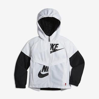 Nike Sportswear Windrunner Little Kids' (Girls') Jacket $65 thestylecure.com