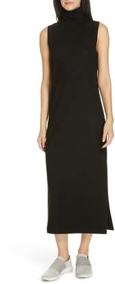 Vince Sleeveless Turtleneck Wool Blend Dress