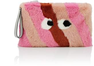 Anya Hindmarch Women's Eyes Mink Fur Clutch