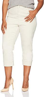 NYDJ Women's Corynna Ankle Pant in Stretch Sateen