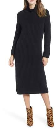 Leith Rib Midi Sweater Dress