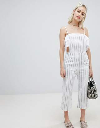 Emory Park Cami Jumpsuit In Stripe