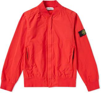 Stone Island Junior Tinto Capo Bomber Jacket